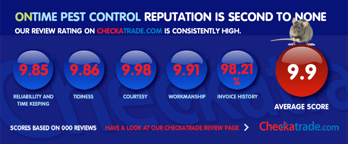 On Time Pest Control Checatrade Profile